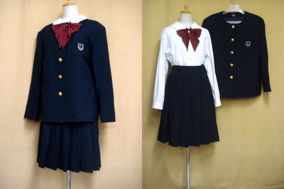 横浜清風高等学校の中古制服