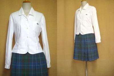 鈴峯女子高等学校の制服