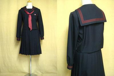 京都文教中学校の中古制服
