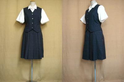潤徳高等学校の中古制服