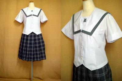 岸和田市立産業高等学校の中古制服