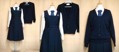 清泉女学院中学高等学校の中古制服