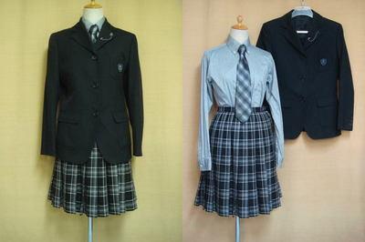 沖学園高等学校の中古制服