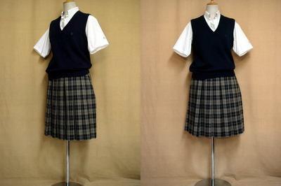 大阪市立西高等学校の中古制服