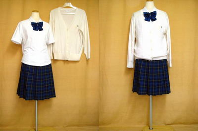 京都精華女子高等学校の中古制服